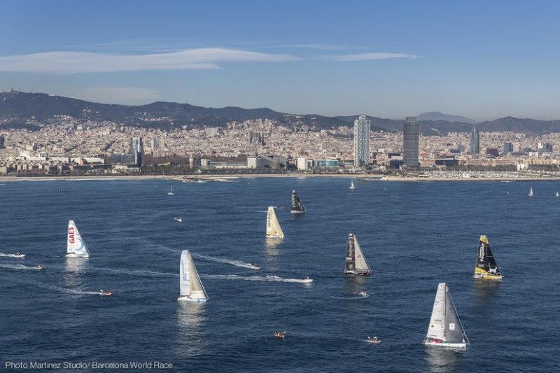 El anuncio de regata de la Barcelona World Race 2018-2019