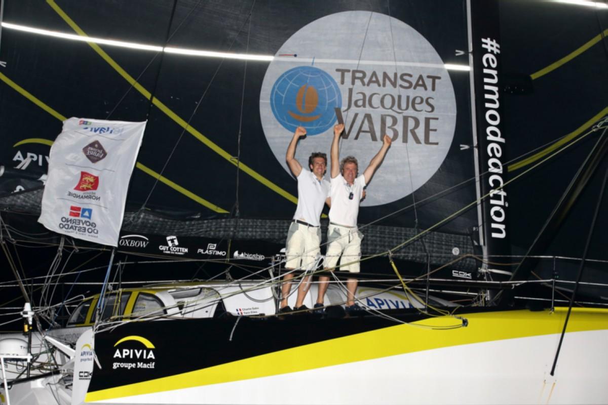 El Apivia gana la Transat Jacques Vabre
