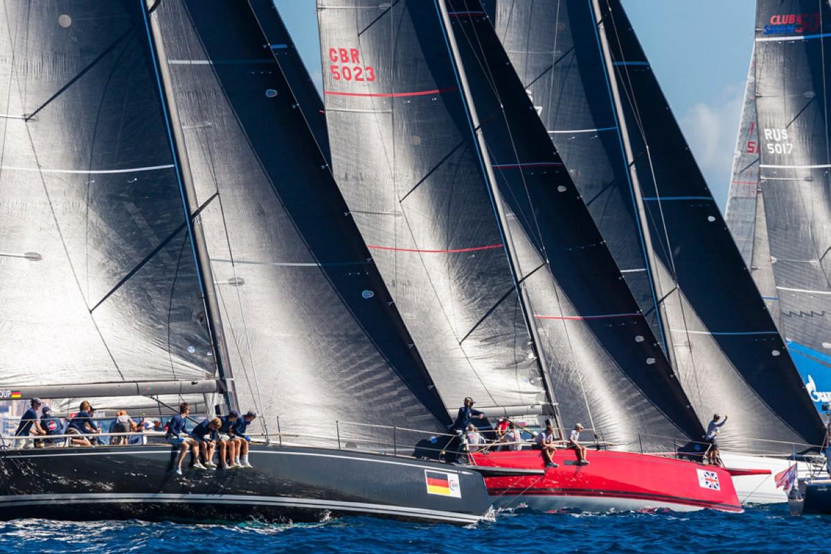 El británico Perhonen lidera el mundial de ClubSwan 50 en Palma