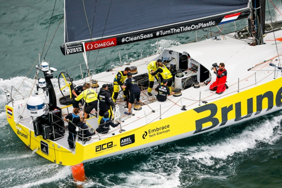El Brunel gana la Etapa 9 de la Volvo Ocean Race