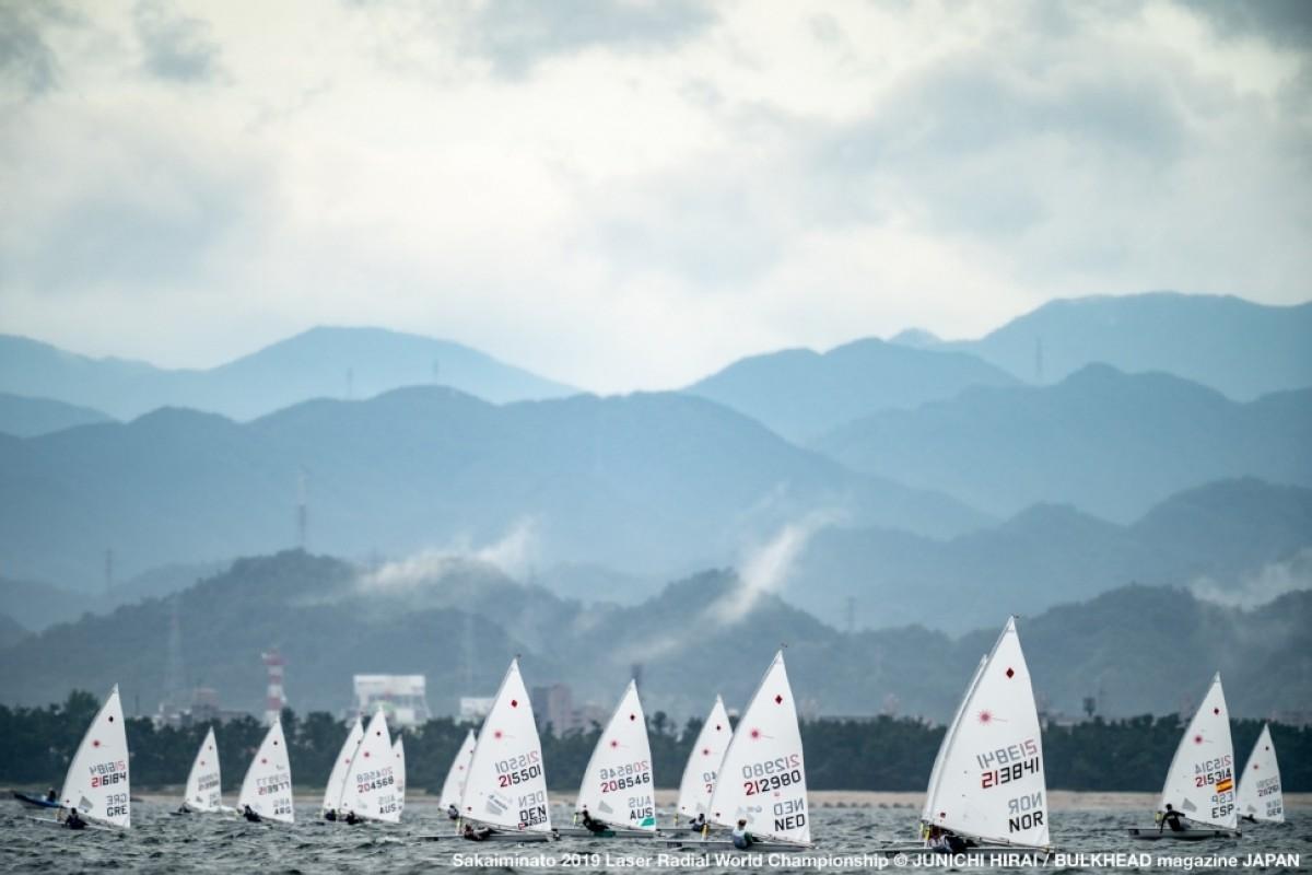 El Campeonato del Mundo de Laser Radial de Sakaiminato, Japón