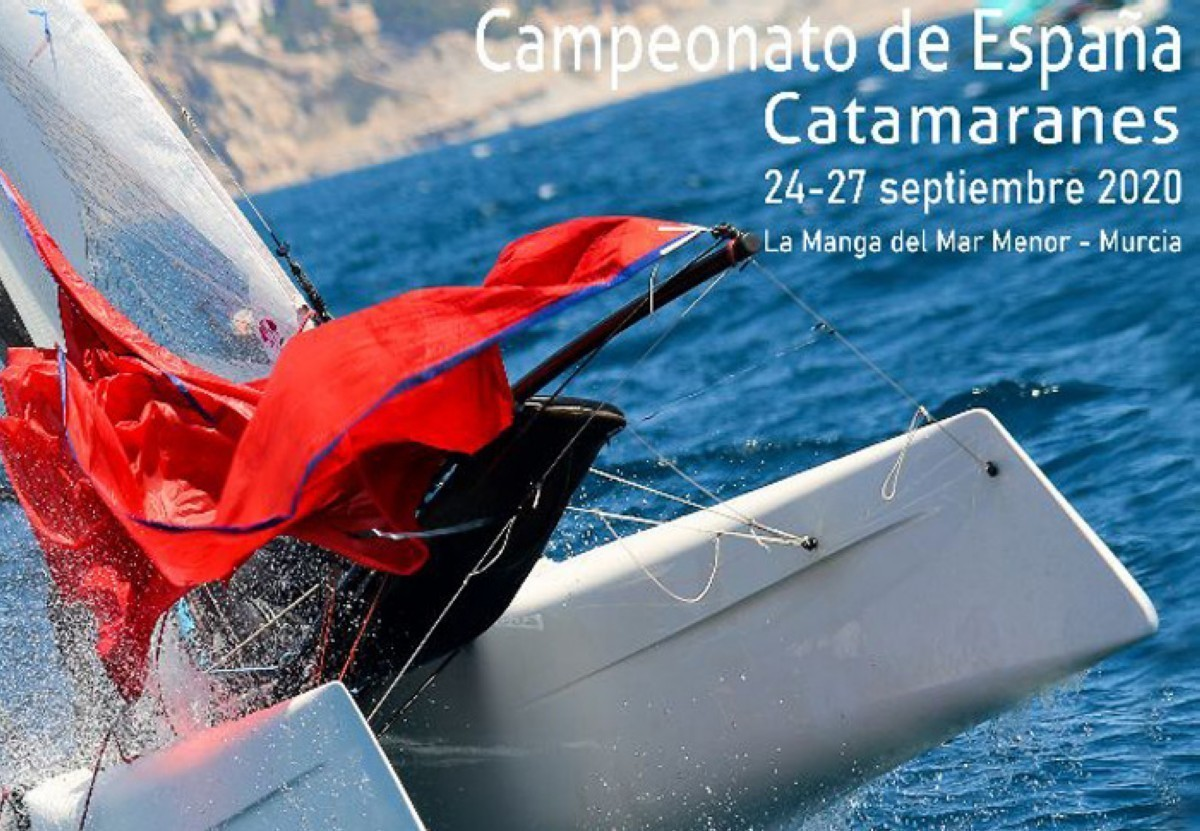 El campeonato de España de Catamaranes con cerca de 100 regatistas