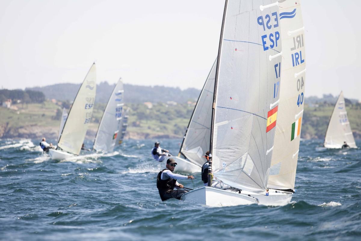 El Campeonato de España de Finn en aguas de Gerona