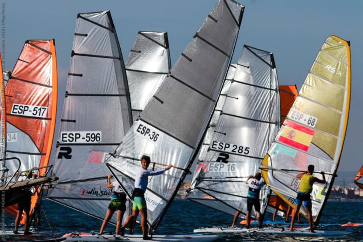 El Campeonato de España de Fórmula Windsurf