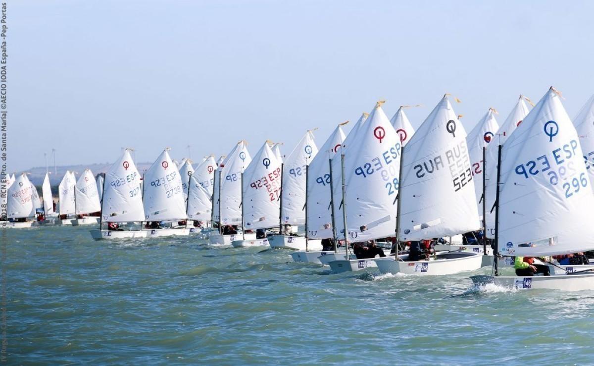 El Campeonato de Europa de Optimist 2021 en Cádiz