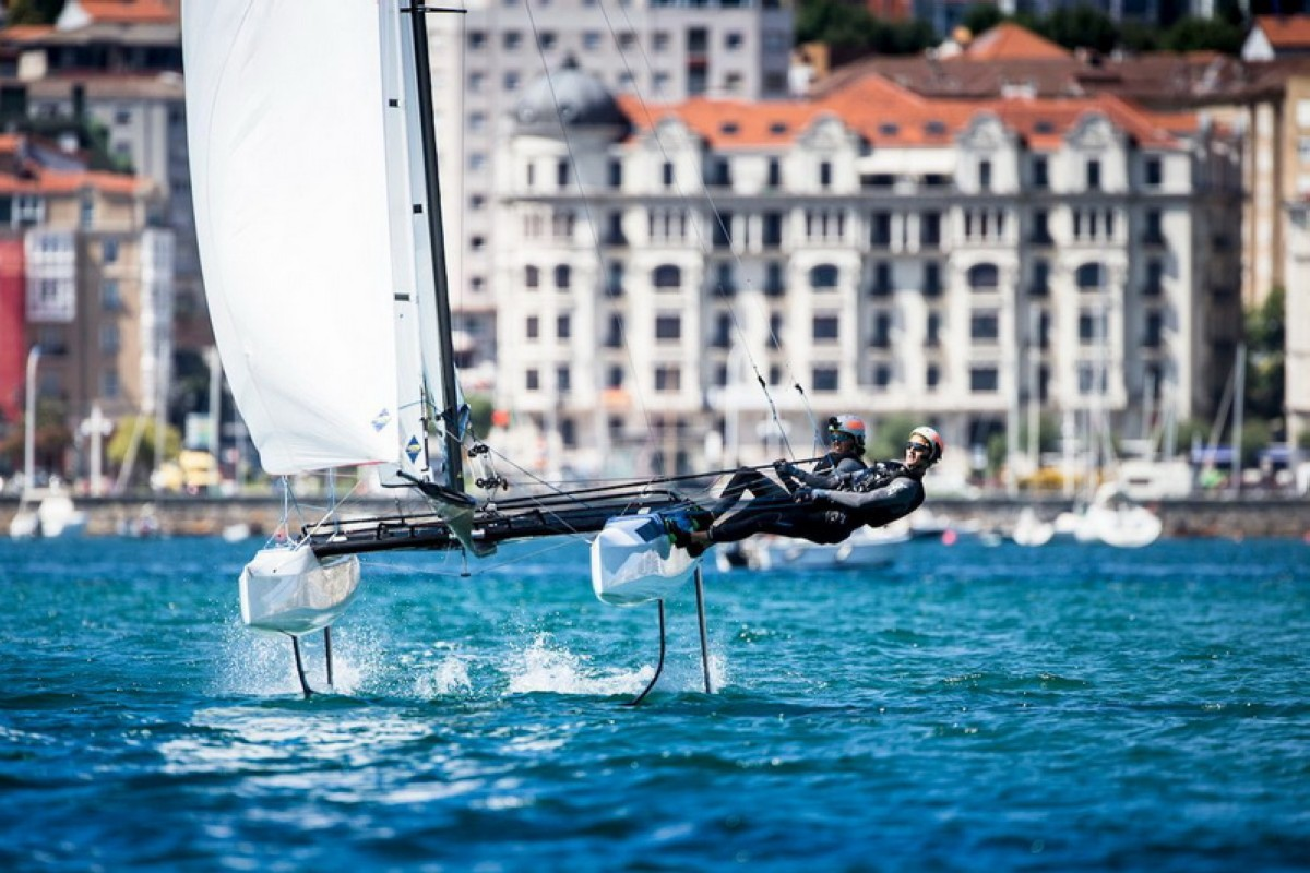 El CEAR de Santander epicentro de la vela olímpica