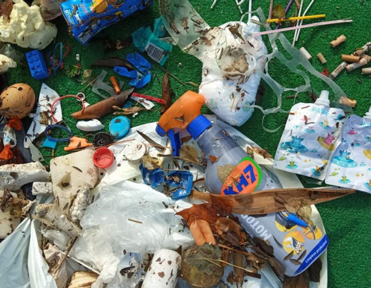 El Club de Mar y Seabin recogen más de una tonelada y media de residuos marinos