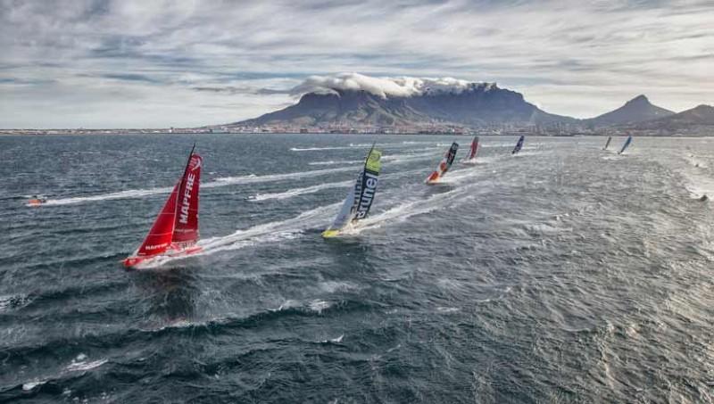 El domingo, la flota de la Volvo saldrá de Ciudad del Cabo