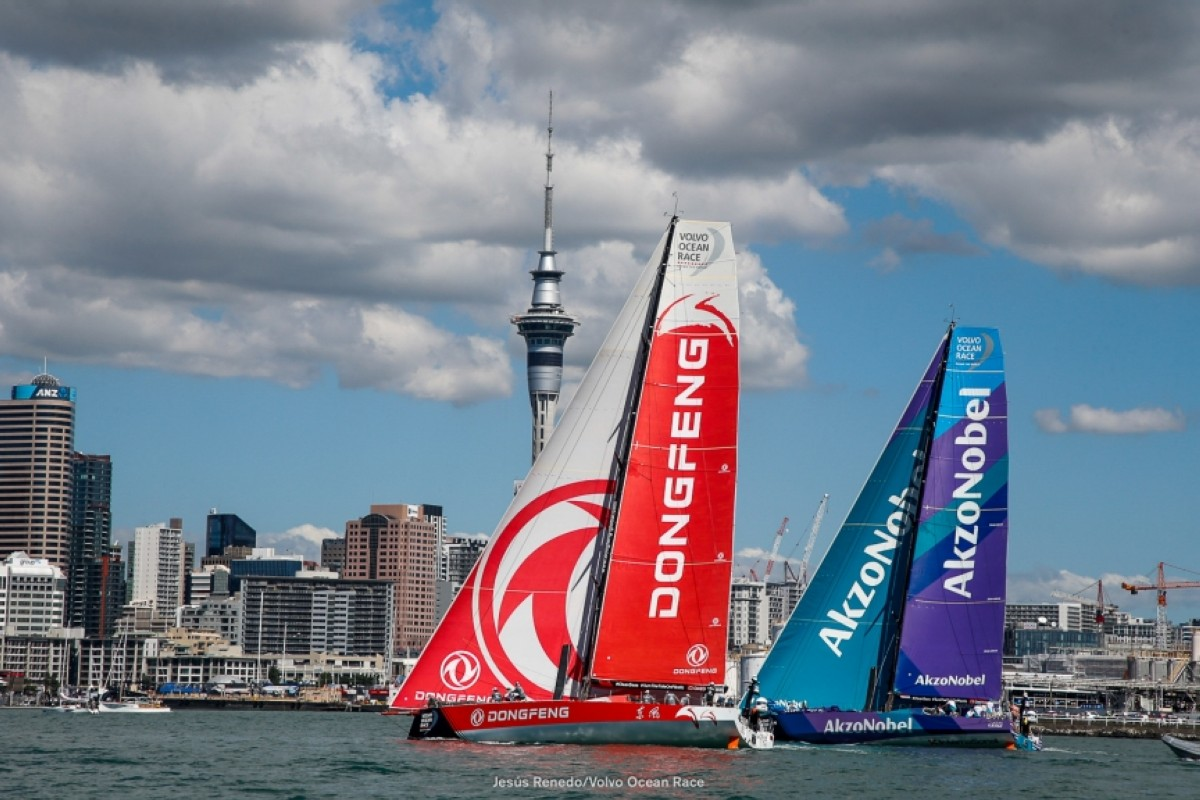 El Dongfeng gana la New Zealand Herald In Port Race