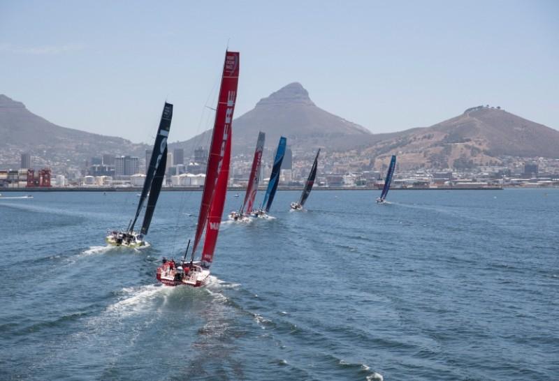 El Dongfeng Race Team gana en Ciudad del Cabo