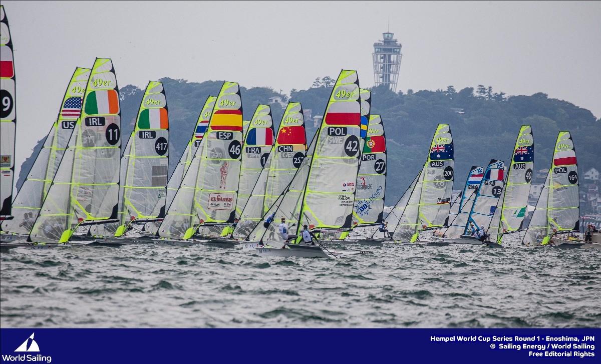 El equipo pre olímpico español de vela a punto
