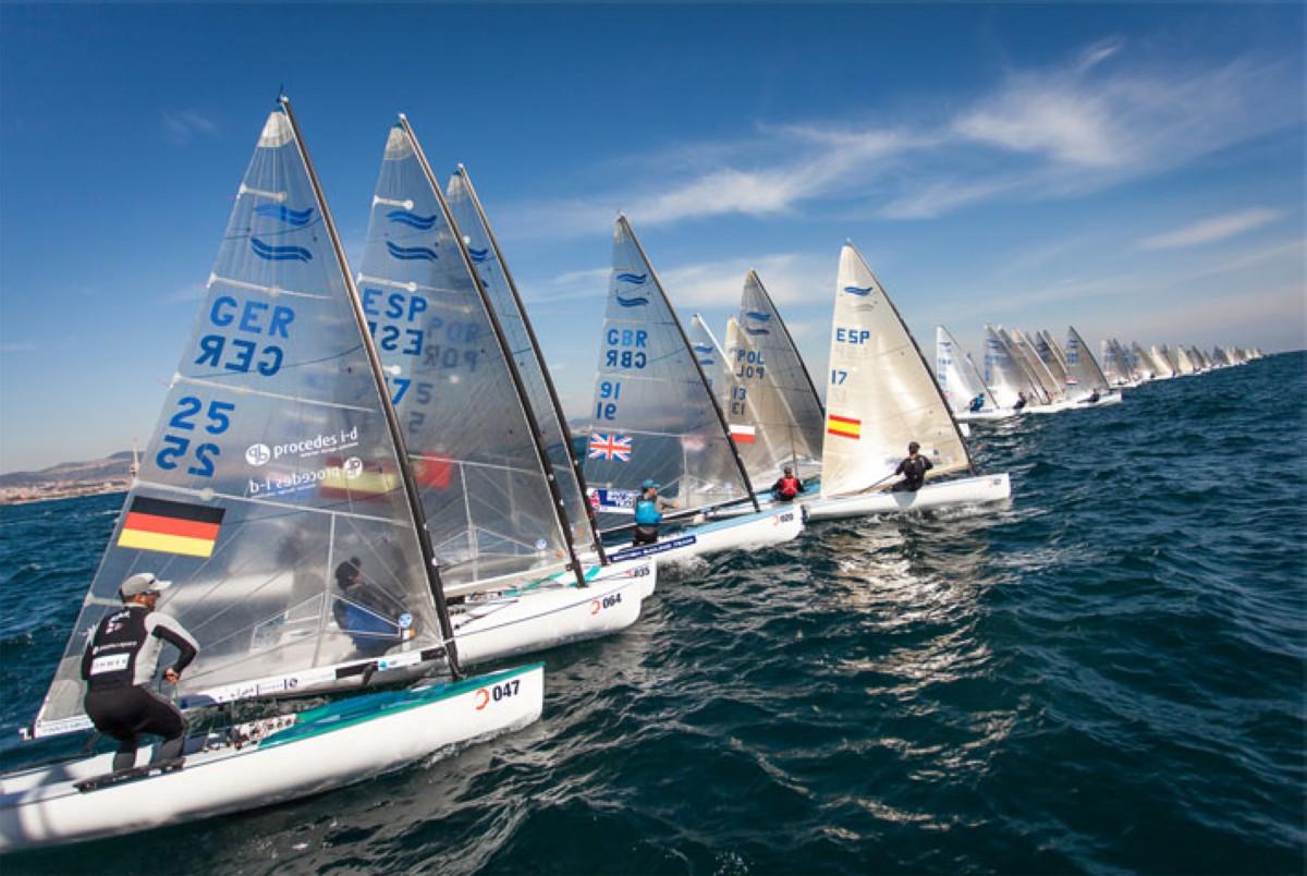 El estreno del Campeonato de Europa Finn quedó pospuesto