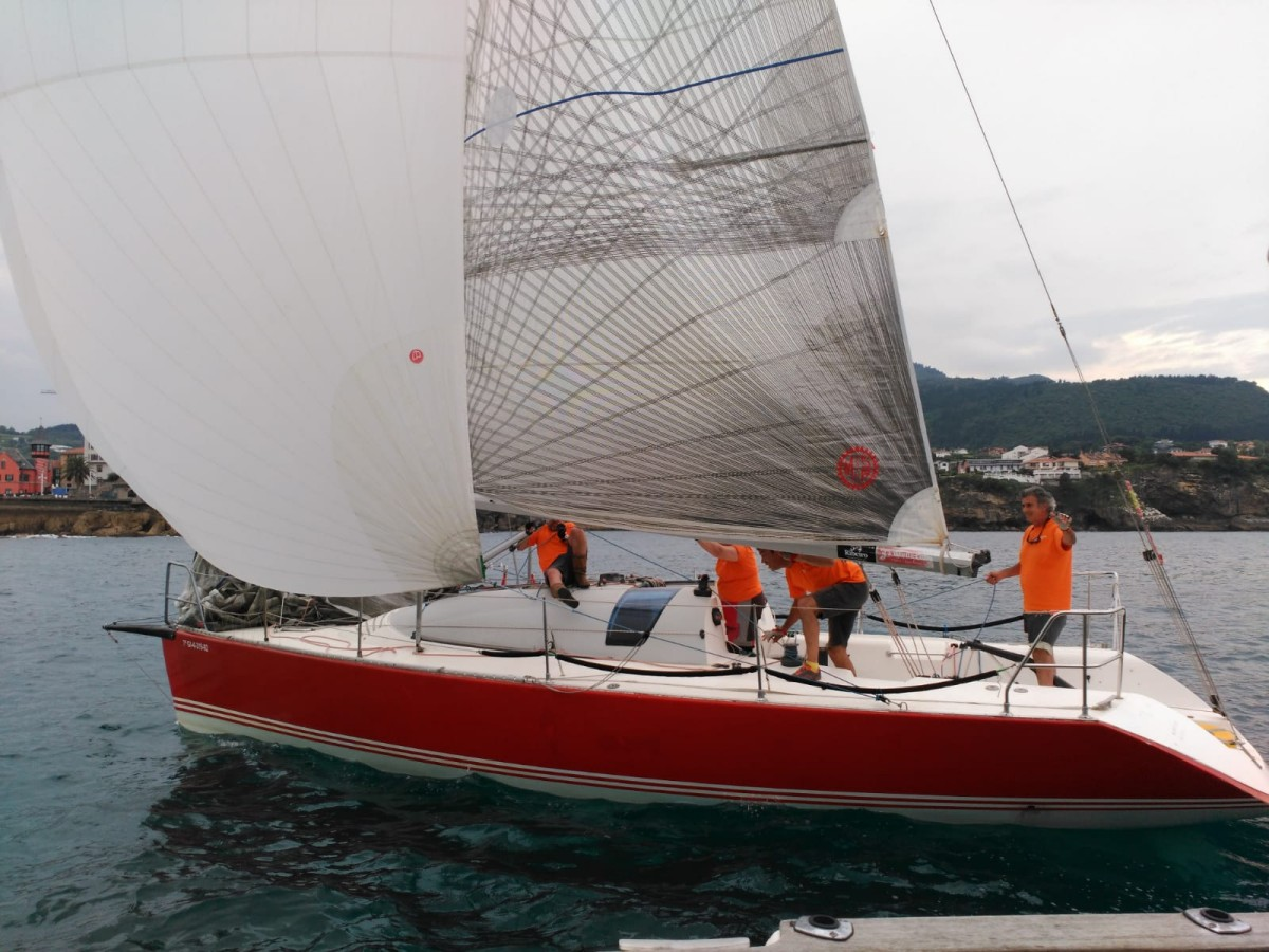 El Gaitero gana una regata Getxo-Lekeitio