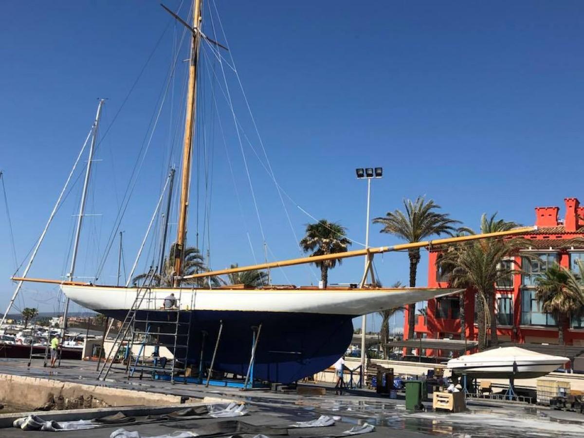 El Hispania en condiciones para la I Marina Sotogrande Classic Week