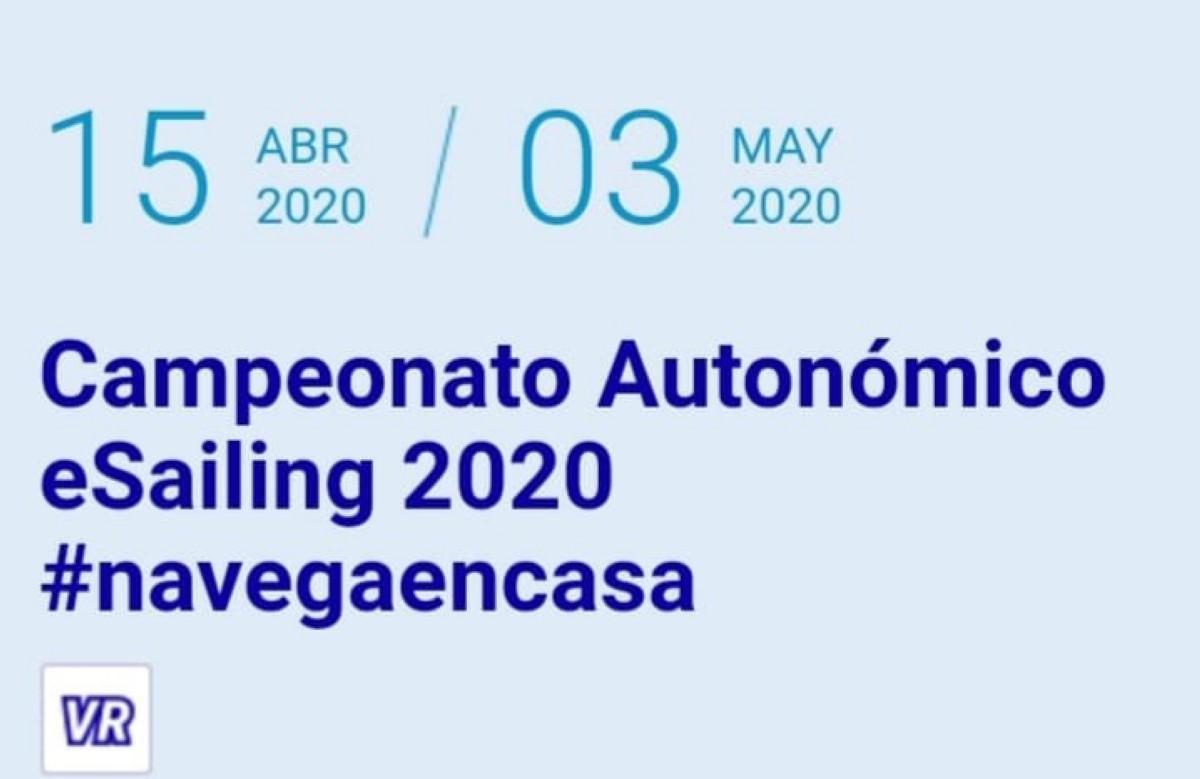 El I Campeonato Autonómico eSailing 2020