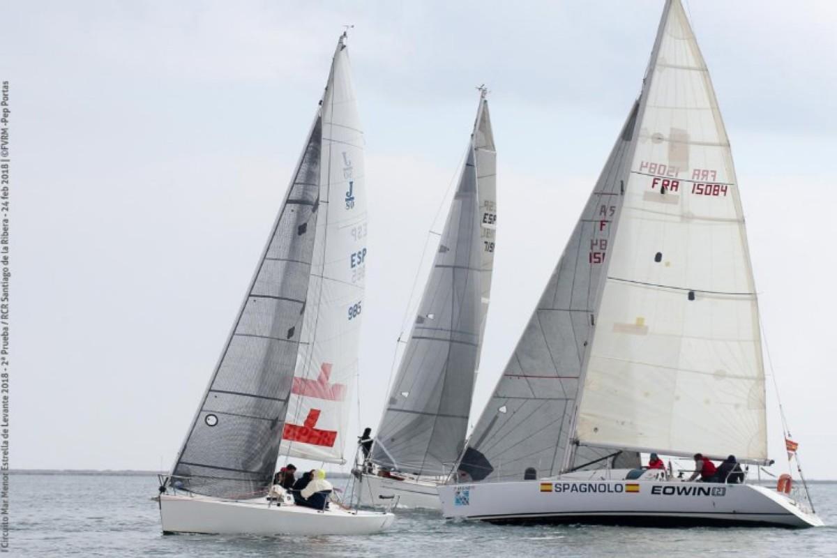 El II Circuito Mar Menor-Trofeo Estrella de Levante con los primeros líderes