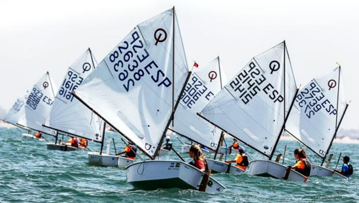 El III Trofeo de la Hispanidad de Optimist