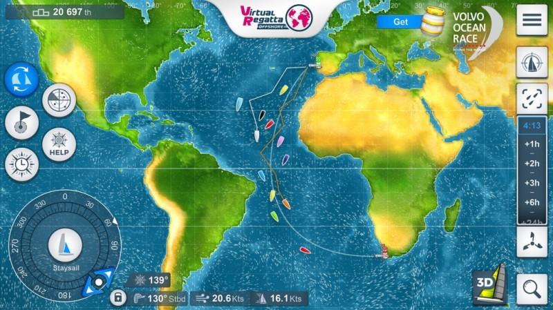 El juego de la Volvo Ocean Race regresa