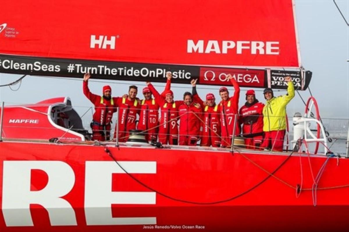 El Mafre gana la octava etapa de la Volvo