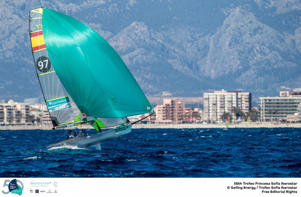 El Mistral aparece en el 50 Trofeo Princesa Sofía Iberostar