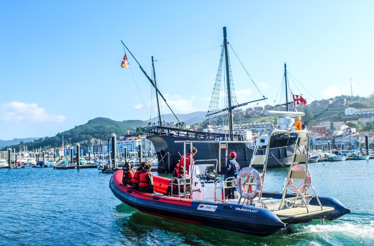 El Monte Real acerca al mar a menores tutelados