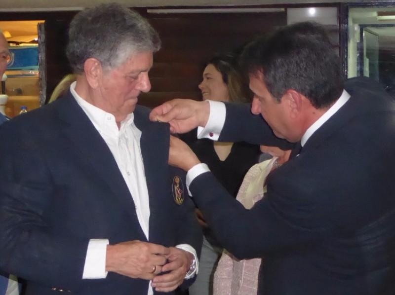 El Real Club Náutico de Madrid rinde homenaje a Arturo Delgado