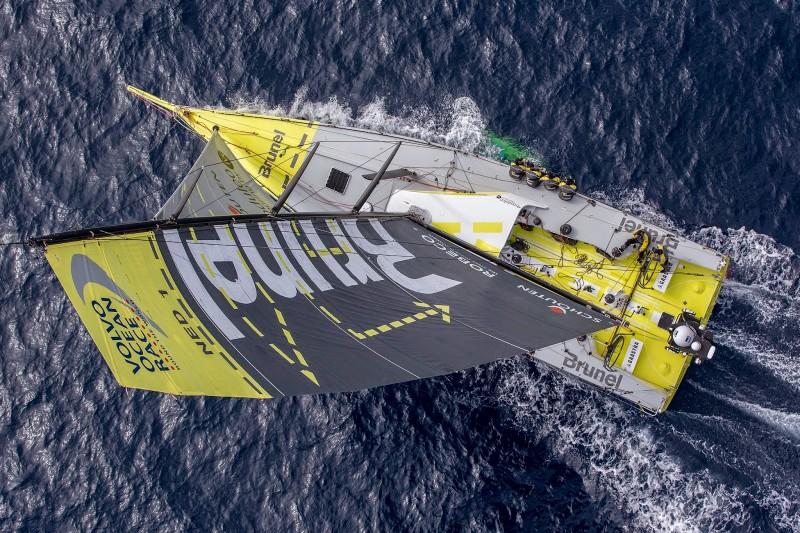 El Team Brunel, veterano de la Volvo Ocean Race