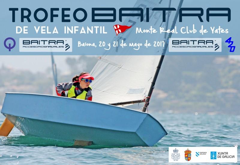 El Trofeo Baitra reunirá en Baiona a 60 regatistas