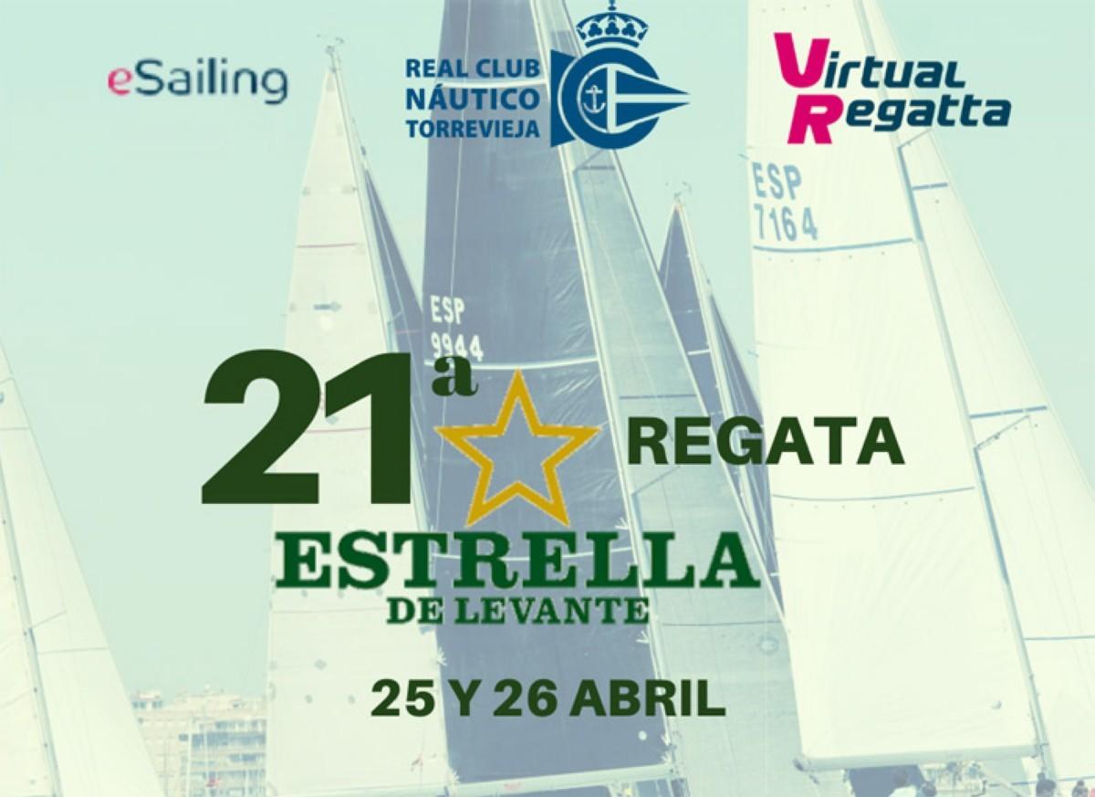 El Trofeo Estrella de Levante eSailing virtual