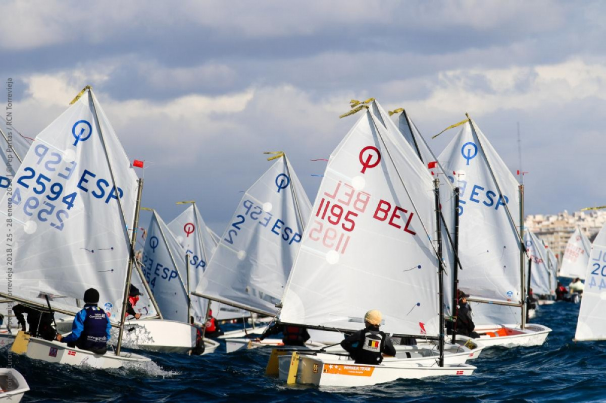 El Trofeo Euromarina Optimist con 398 inscritos