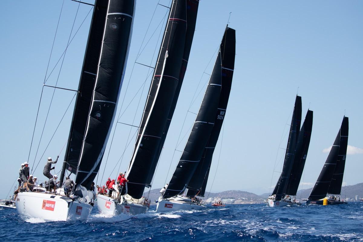 El Trofeo de las Naciones de la clase Swan en Palma