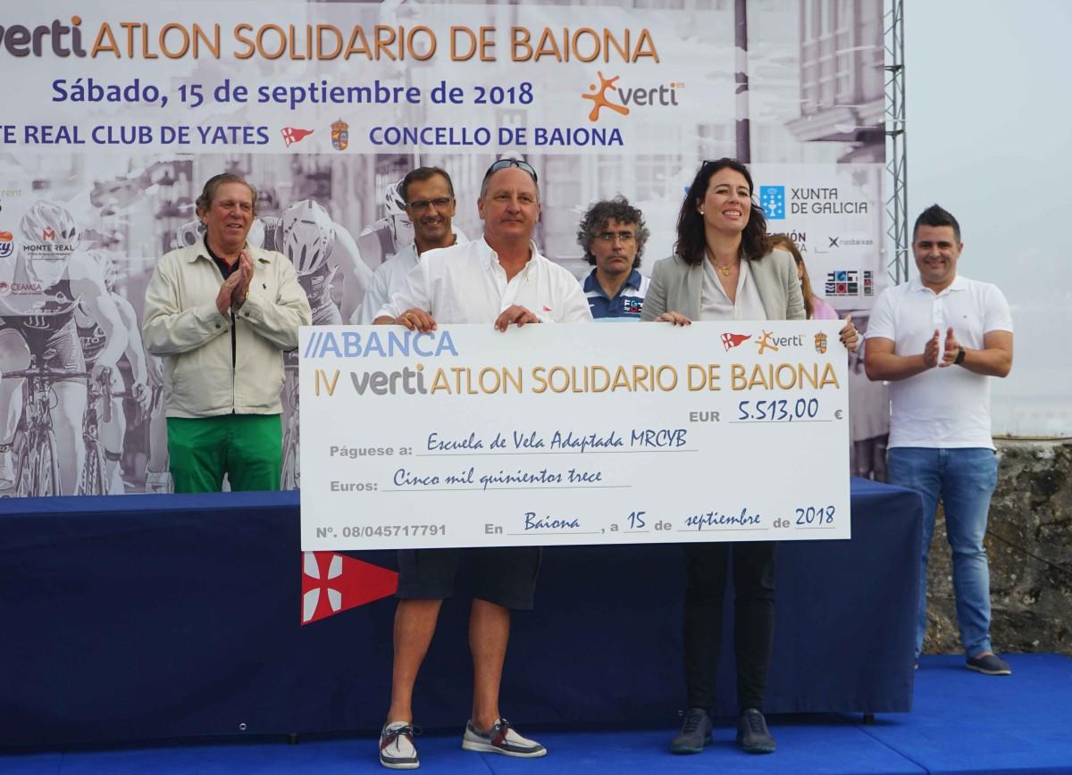 El Vertiatlón Solidario con un gran éxito de público
