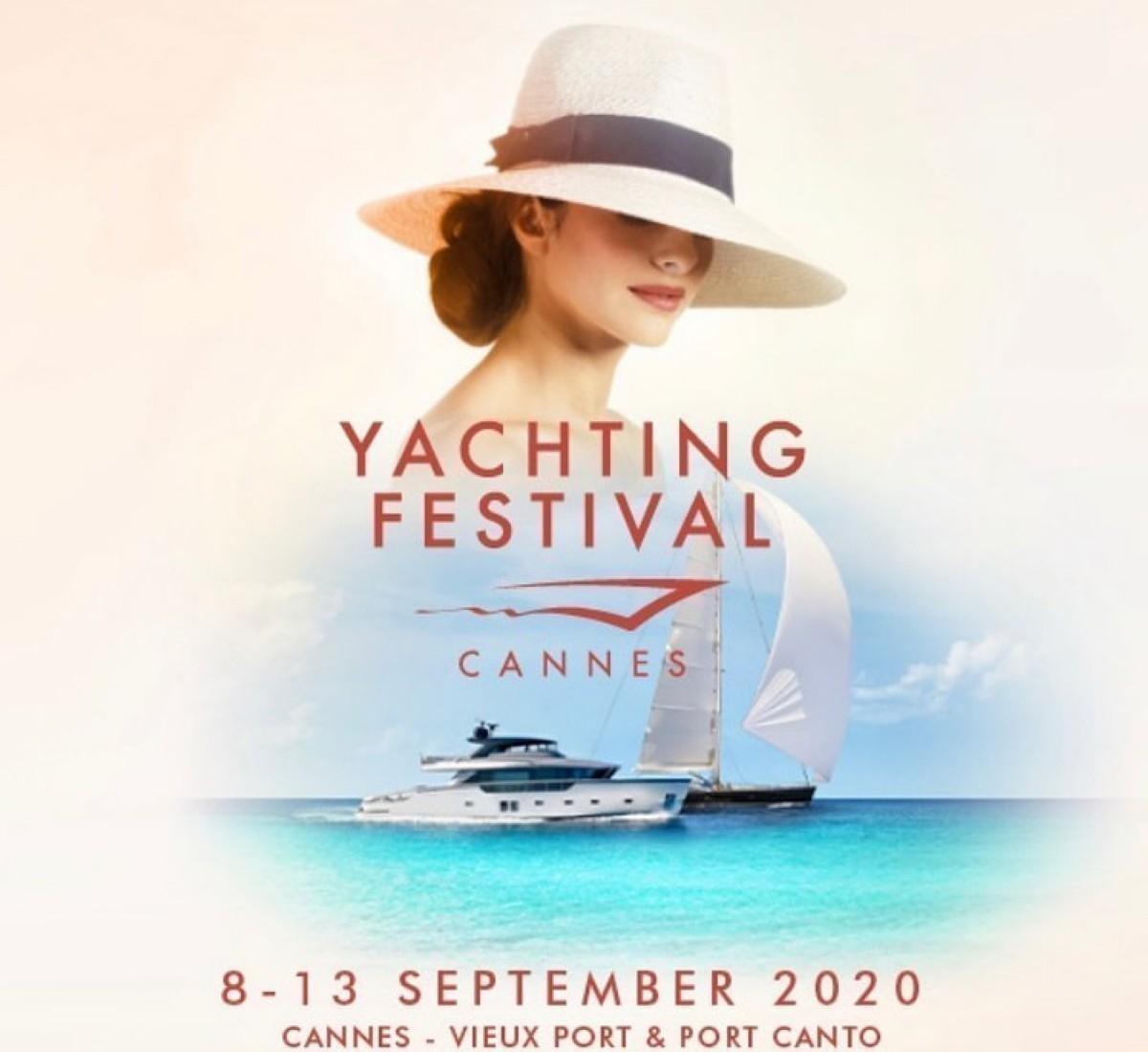 El Yachting Festival en la bahia de Cannes