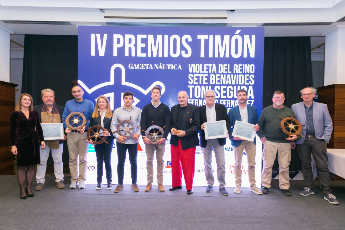 Entrega de los Premios Timón de Gaceta Náutica