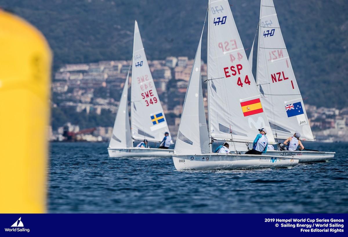 España apunta alto en el Campeonato de Europa de 470