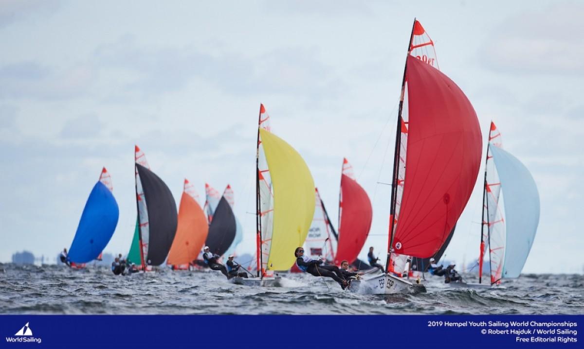 España campeón del mundo de vela juvenil en Gdynia