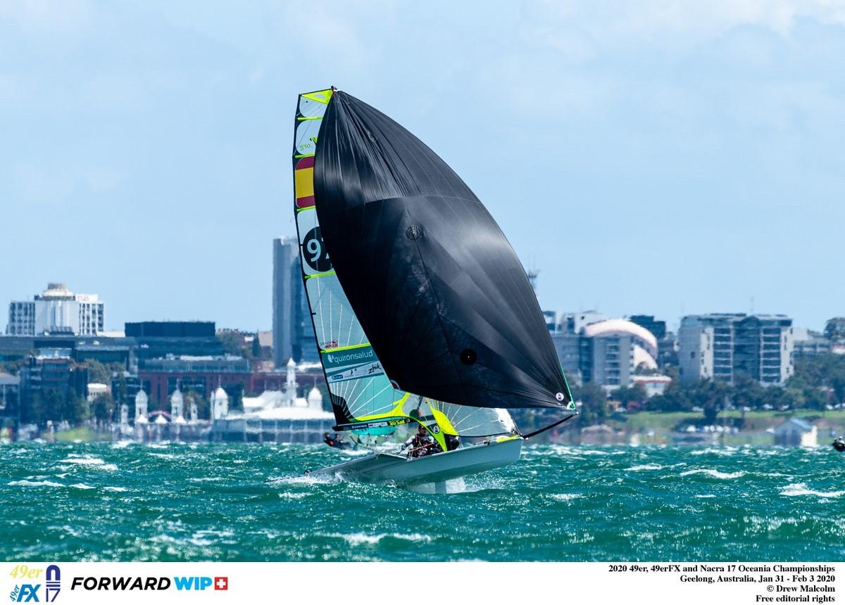 España cierra el Campeonato de Oceanía con dos primeros
