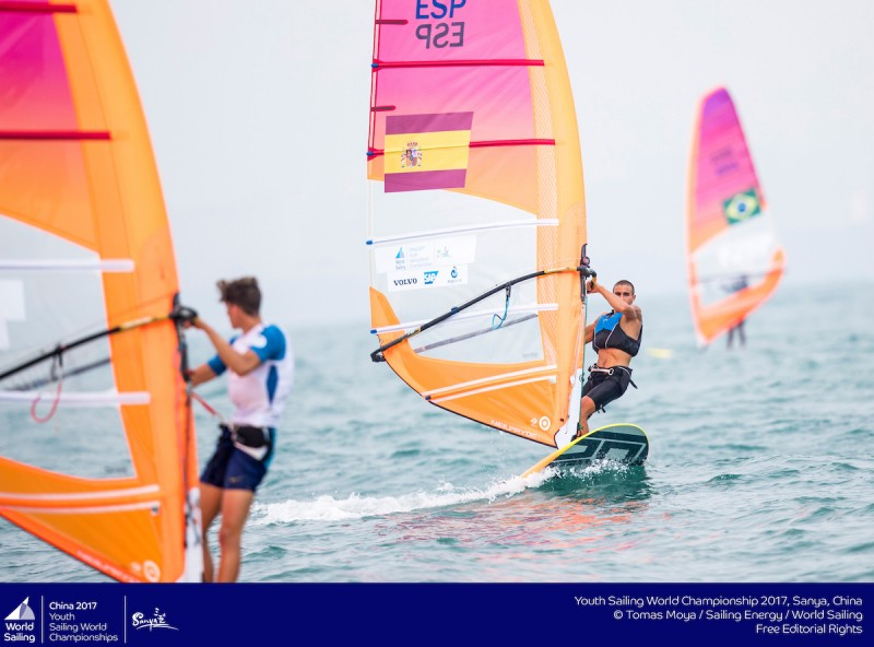 España comienza con buen pie la Youth Sailing World Cup
