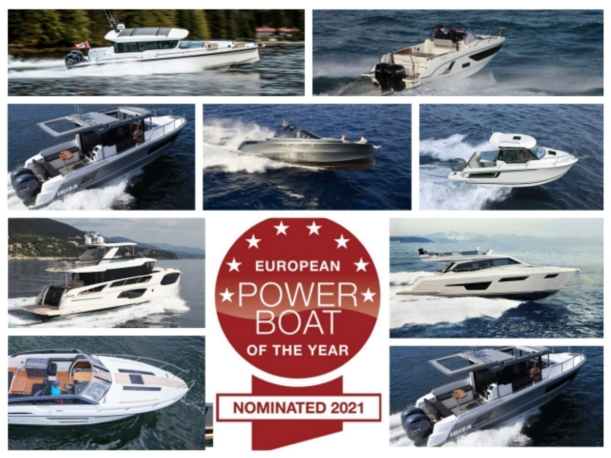 European Power Boat of the Year 2021, un año muy reñido