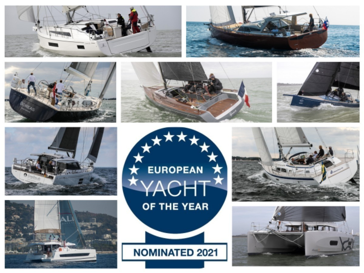European Yacht of the Year 2021 de crucero familiar y altura