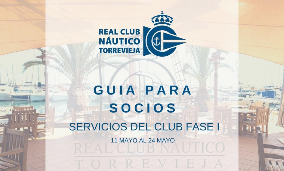 Fase 1 del Real Club Naútico de Torrevieja