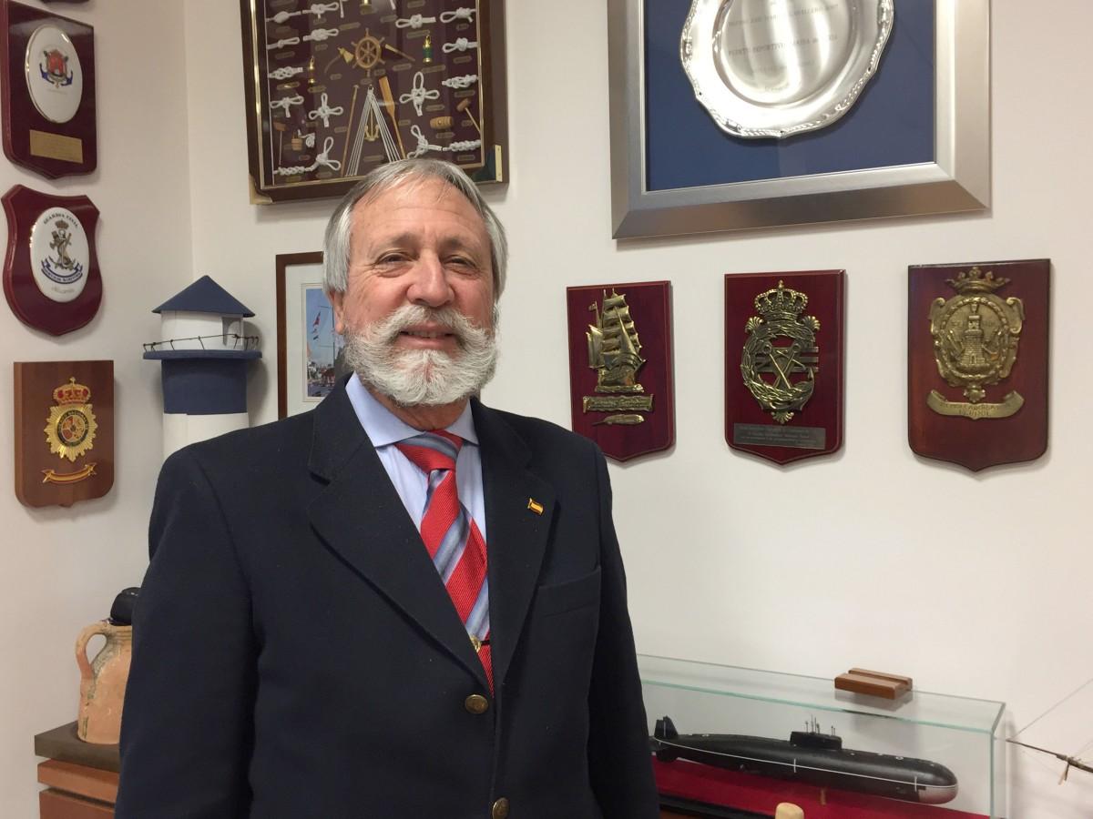 Gabriel Martínez presidente de la Agrupación de Puertos
