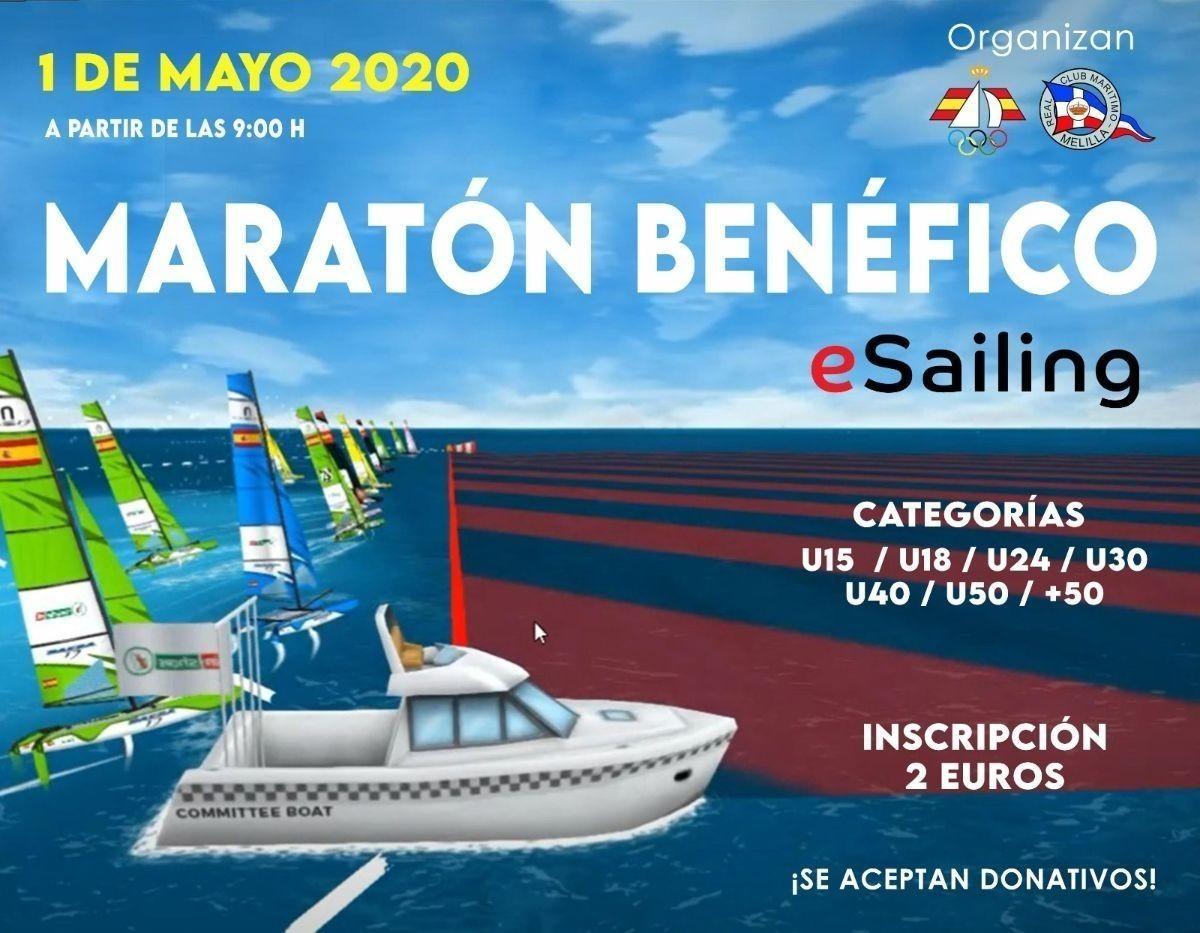 Éxito del I Maratón Benéfico de la RFEV y el RCM Melilla