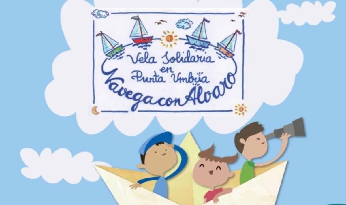 Iniciativa solidaria Navega con Álvaro en el RCMT Punta Umbría