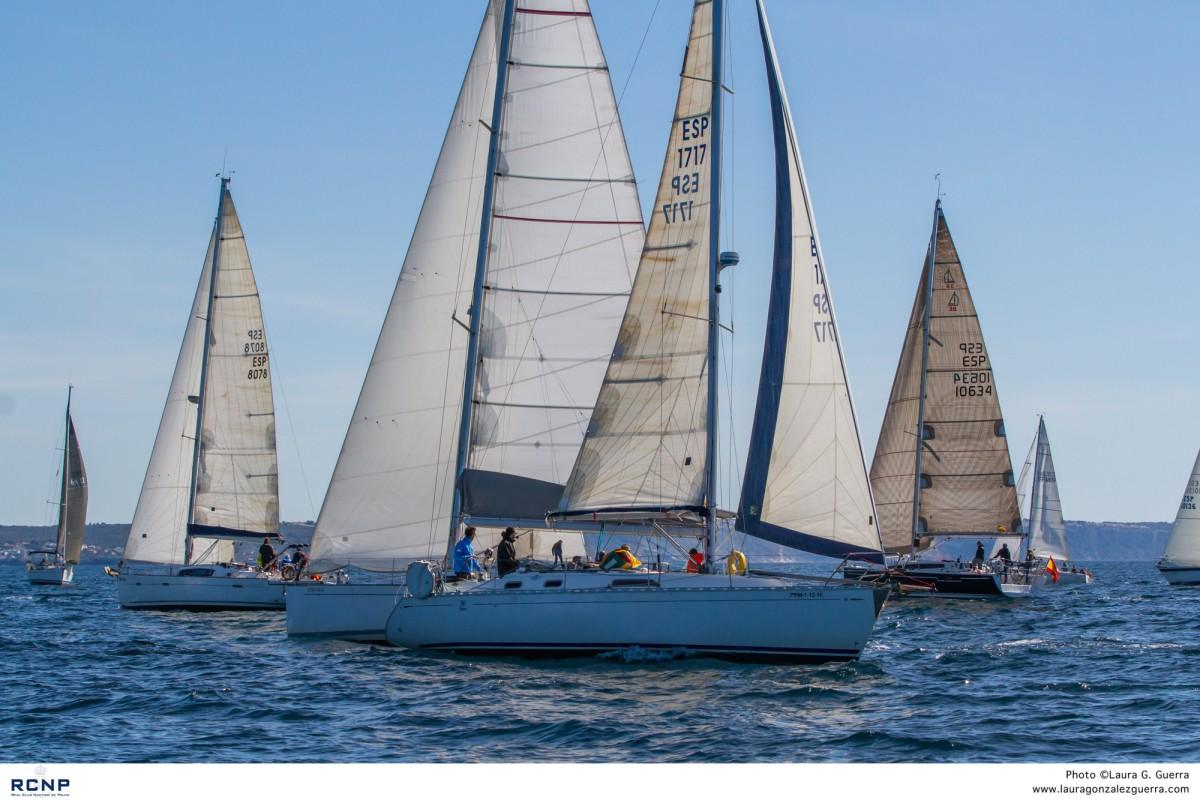 Intenso fin de semana en el RCNP con tres regatas
