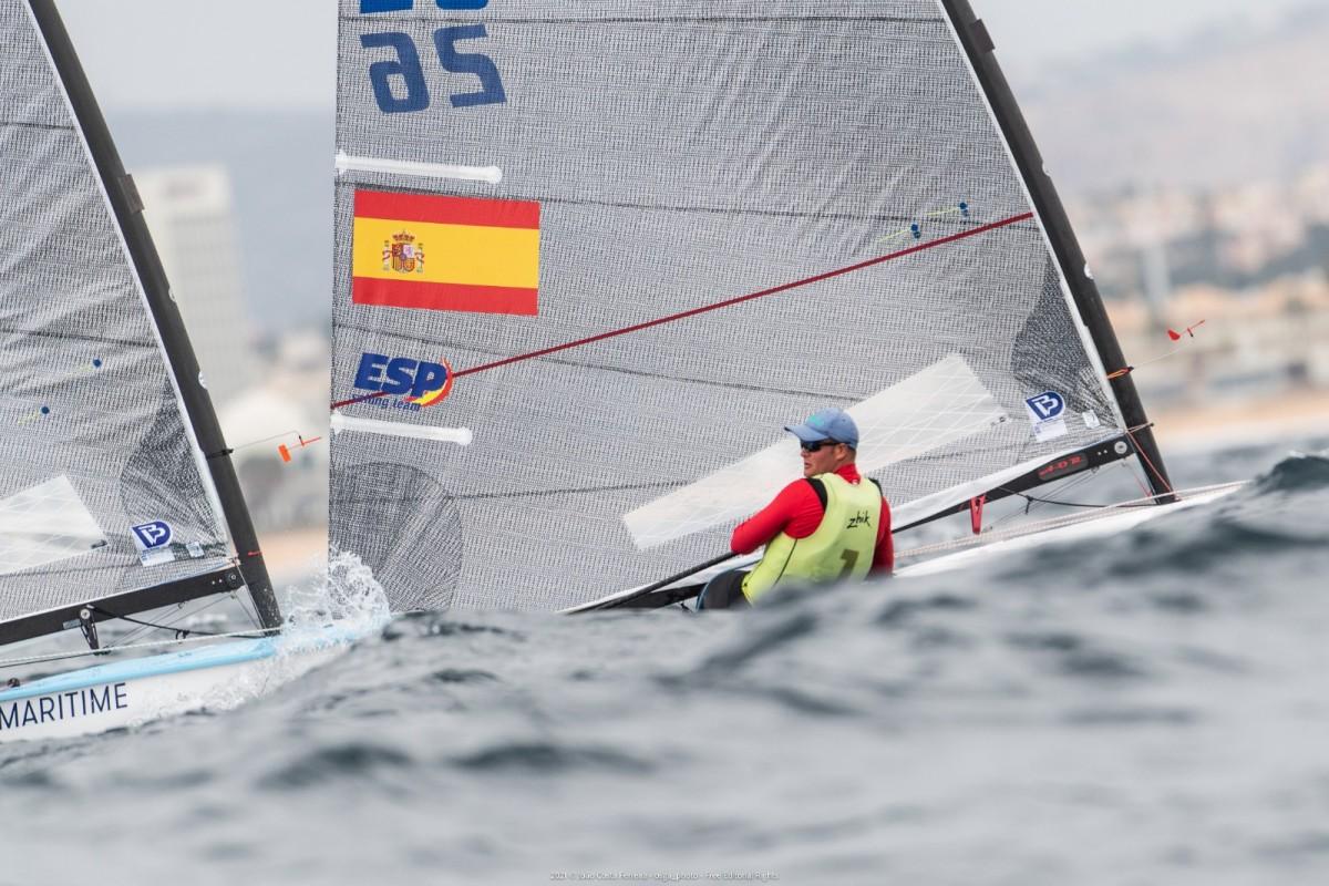 Joan Cardona campeón de Europa U23 de Finn