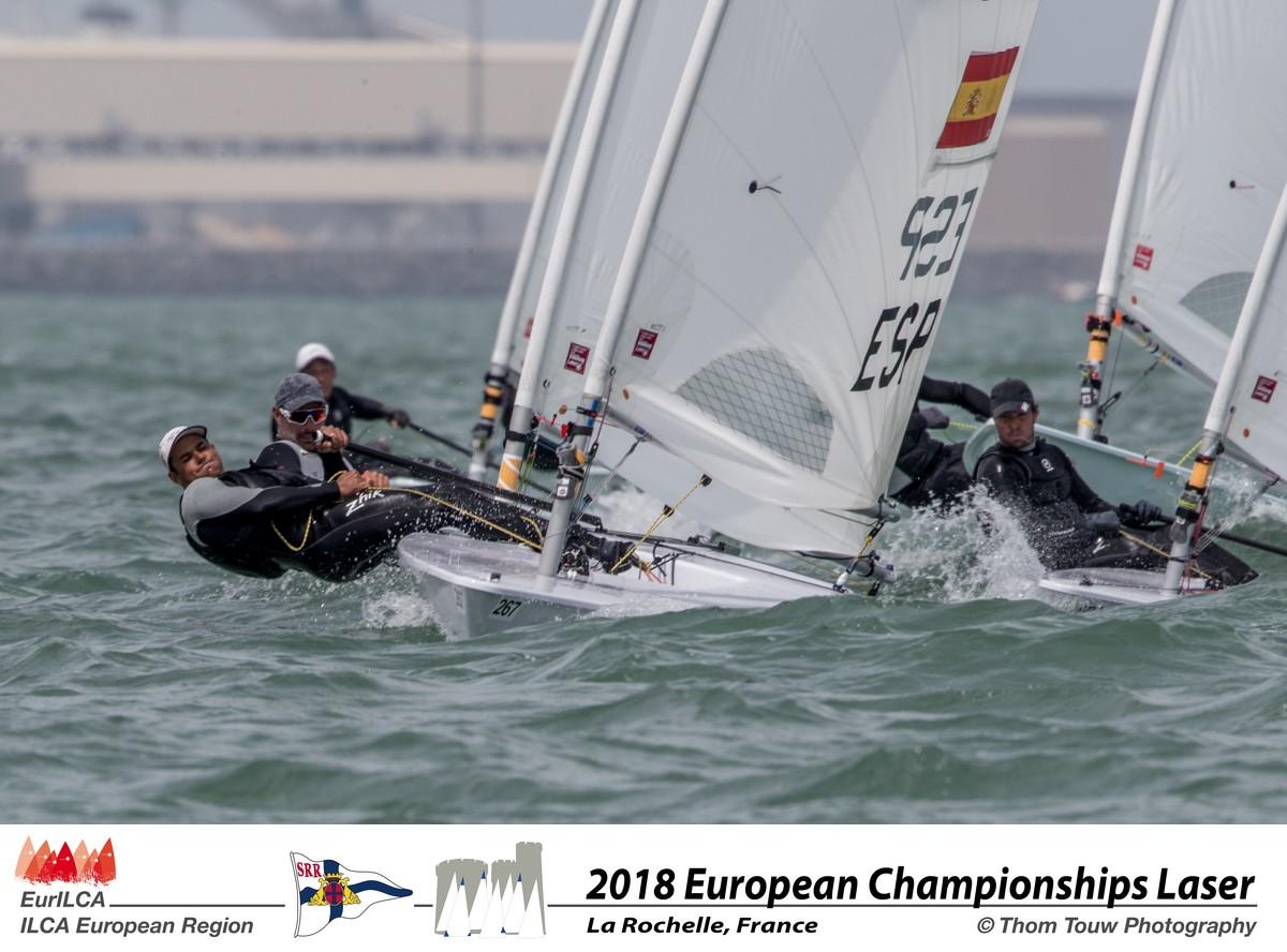 Joel Rodríguez finaliza décimo en el Europeo de Laser