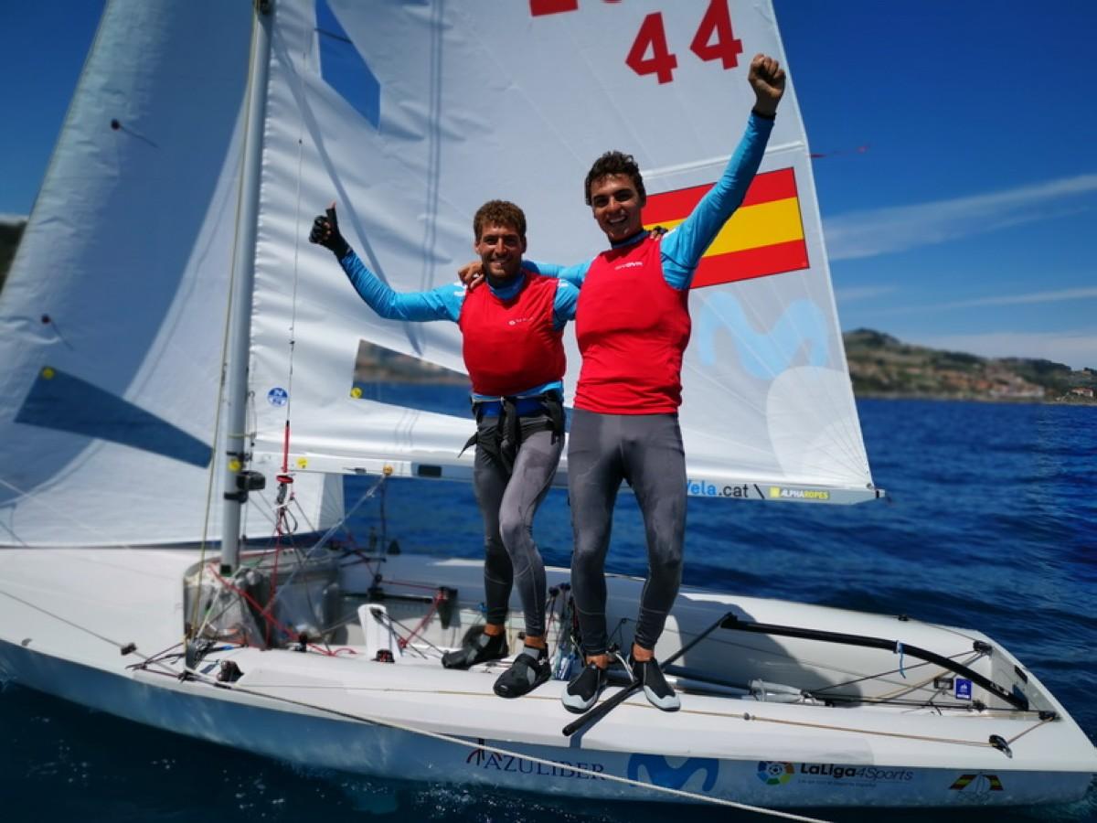 Jordi Xammar y Nicolás Rodríguez, subcampeones de Europa de 470