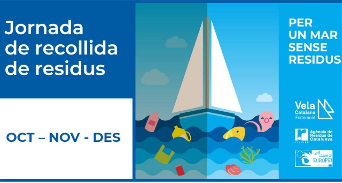 Jornadas de recogida: Por un mar sin residuos en la costa catalana