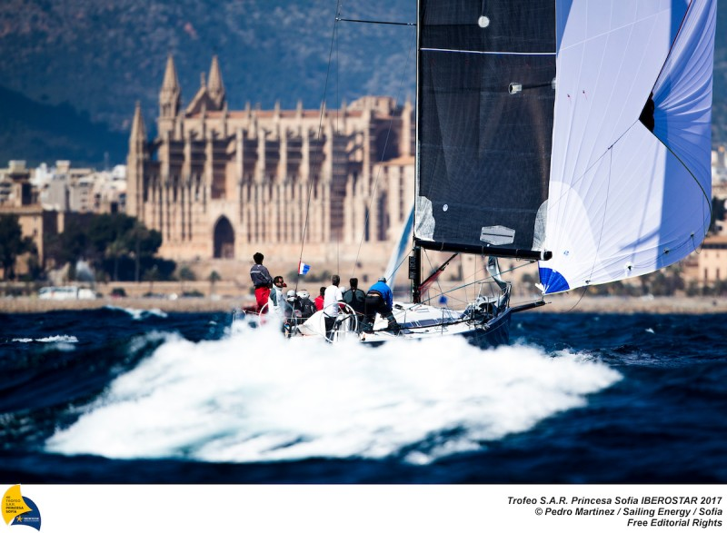 La bahía de Palma ha despedido a las clases J80, ORC y Dragón
